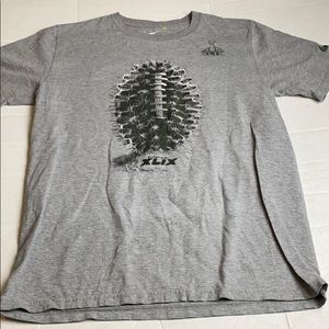 Nike Super Bowl XLIX Cactus Football TShirt Medium